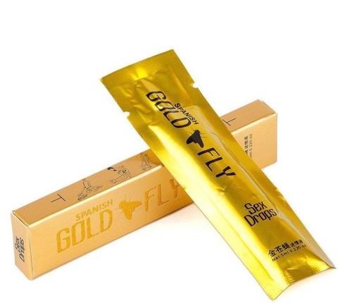 Spanish Gold Fly Золотая шпанская мушка женское возбуждающее средство (жидкость 5 мл.)
