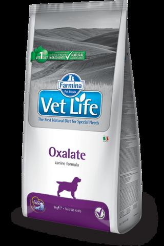Сухой ветеринарный корм Farmina Vet Life Dog Oxalate