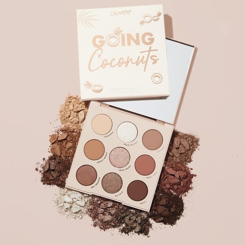ColourPop Going Coconuts palette