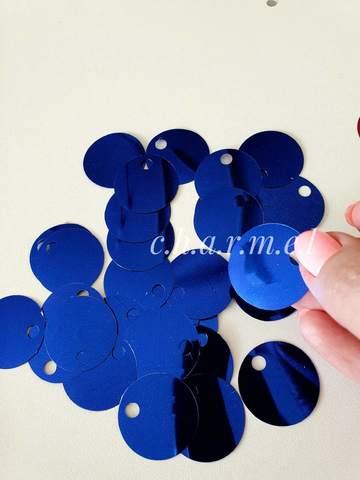 Синий Зеркальный