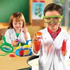 Моя первая лаборатория Юный исследователь Learning Resources как играть