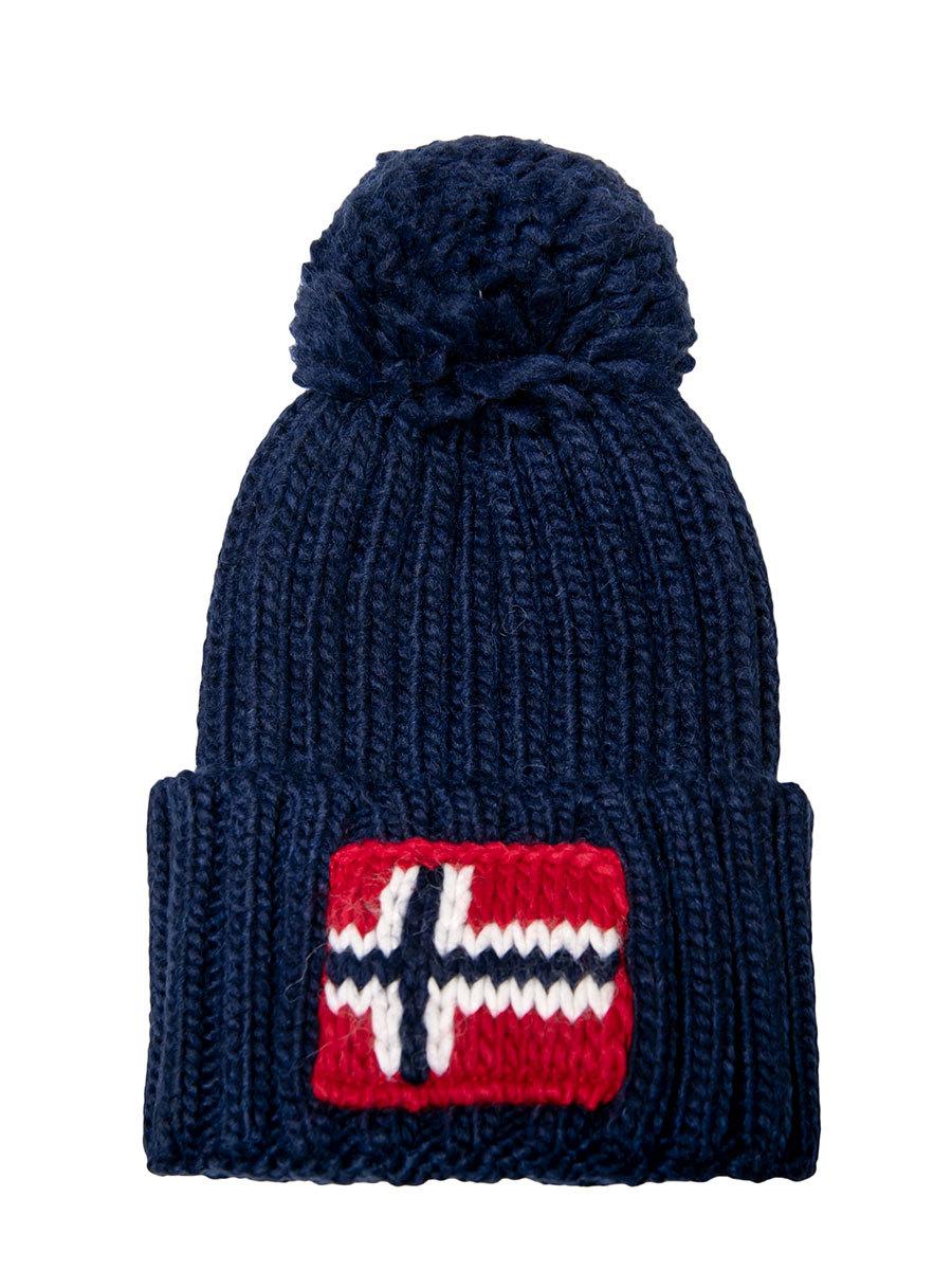 Napapijri шапка Semiury 3 синий