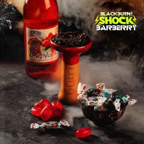 Табак Black Burn Barberry Shock (Барбарисовый Шок) 200г