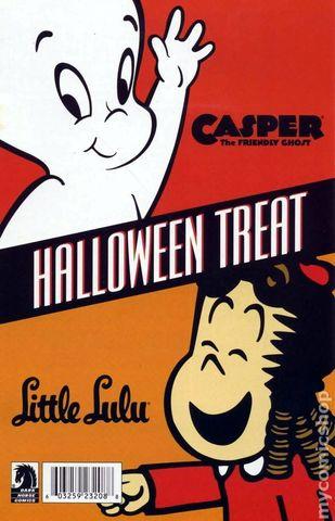 Casper The Friendly Ghost Little Lulu Halloween Treat
