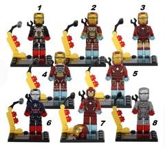 Minifigures Iron Man Blocks Building Series 03