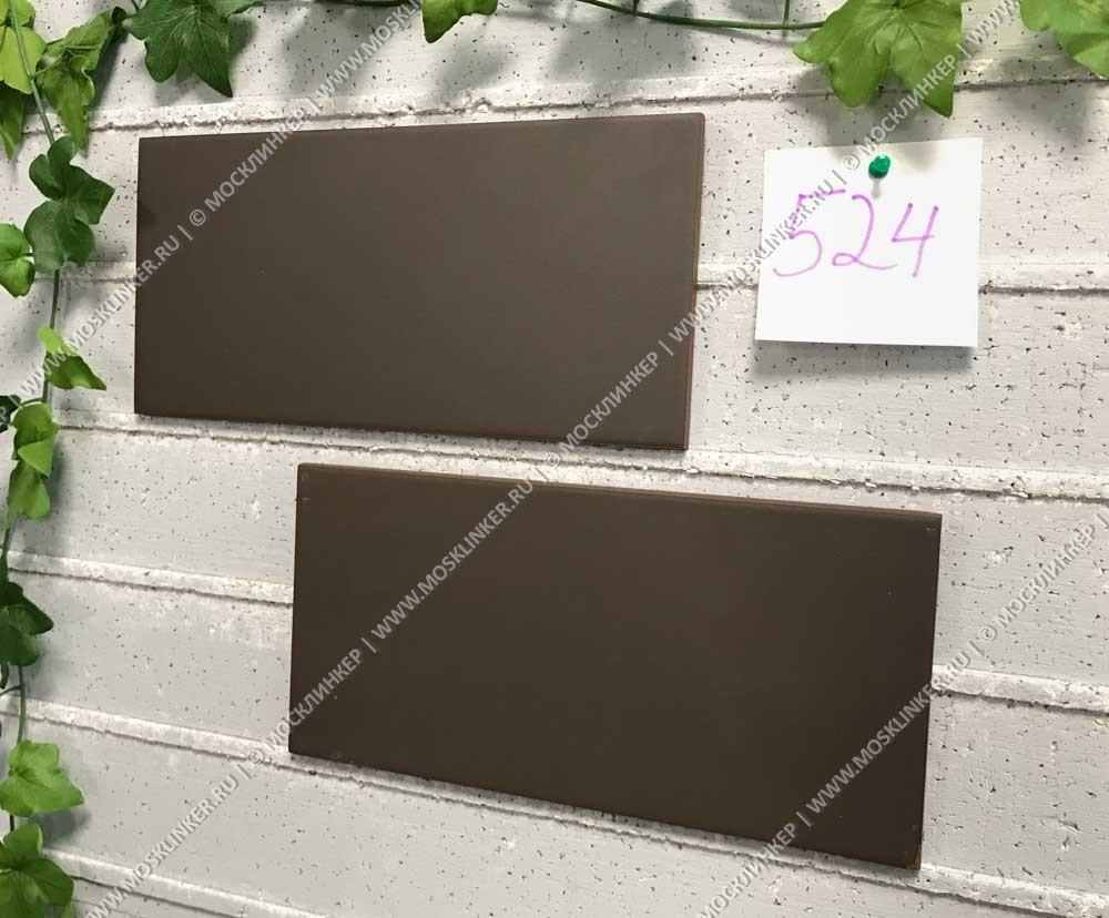 Paradyz - Plain Brown - Цокольная клинкерная плитка, 30х14,8