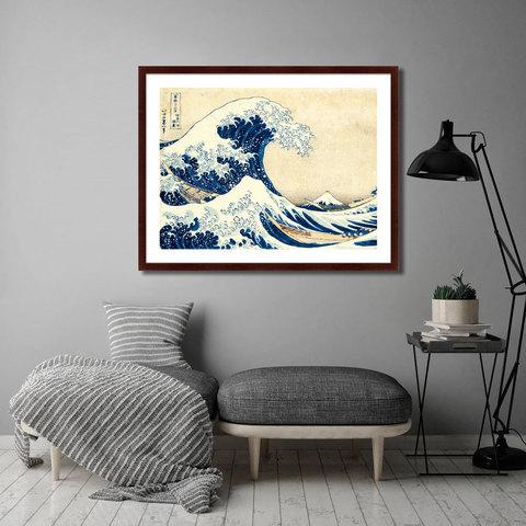 Кацусика Хокусай - Большая волна в Канагаве, 1832г.
