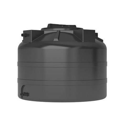 Бак для воды АКВАТЕК ATV 200 (без поплавка, цвет чёрный)