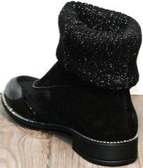 Весенние ботинки женские Kluchini 5161 k255 Black