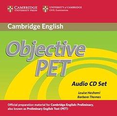 Objective PET  2Ed  Audio CDs (3) !!