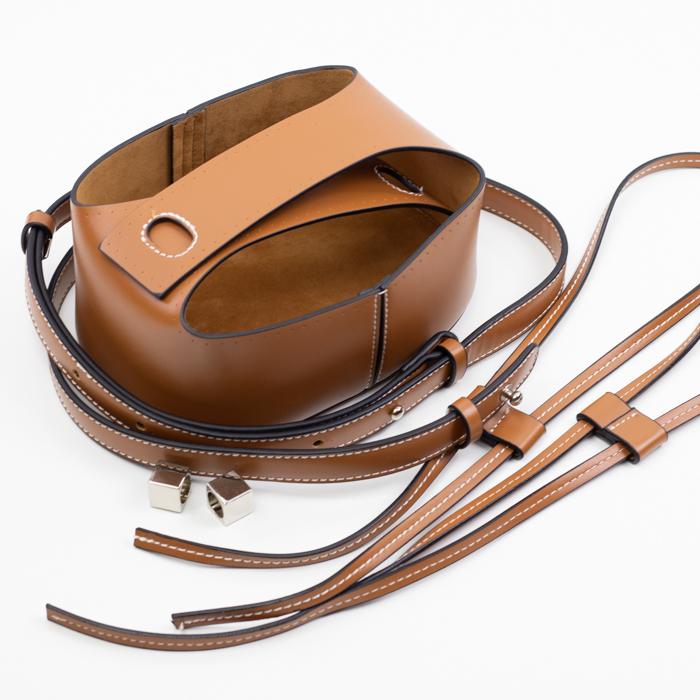 """Фурнитура из эко-кожи Комплект для торбы с высоким дном из экокожи """"Коричневый"""" IMG_9536.jpg"""