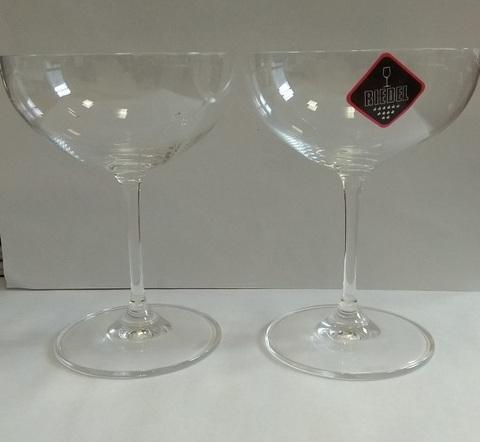 Набор из 2-х бокалов для мартини Moscato 240 мл, артикул 6416/09. Серия Vinum