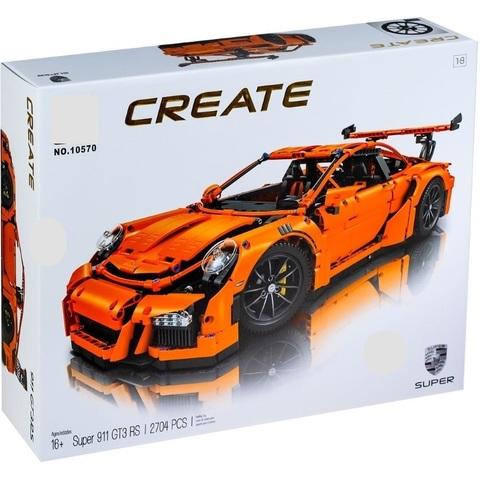 Конструктор Create Porsche 911 GT3 RS 10570, 2704 дет.
