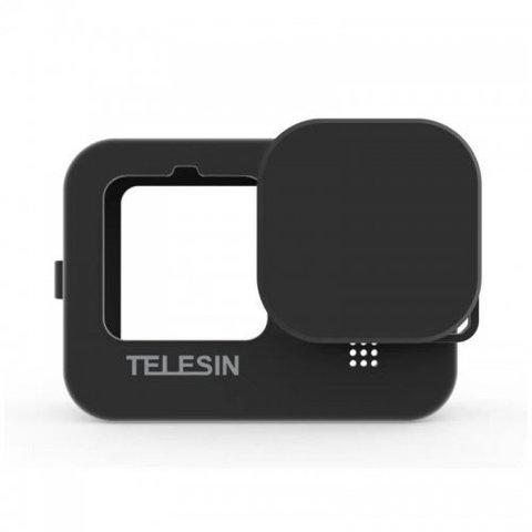 Чехол силиконовый для GoPro HERO 9 Telesin (GP-HER-041-BK) черный