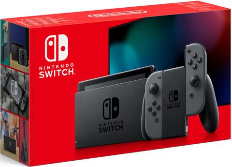 Игровая консоль Nintendo Switch (серый) (вторая ревизия)
