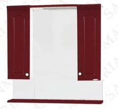 Зеркало-шкаф SanMaria Венге-80 вишня