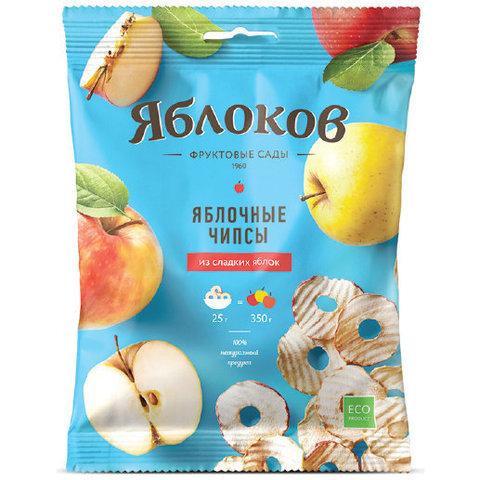 Яблокофф яблочные чипсы из сладких яблок