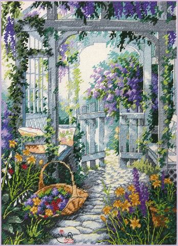 Набор для вышивания Садовая калитка. Арт. 3062