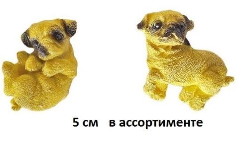 Магнит 973050 Собака Боксер 5см (НИ) полистоун