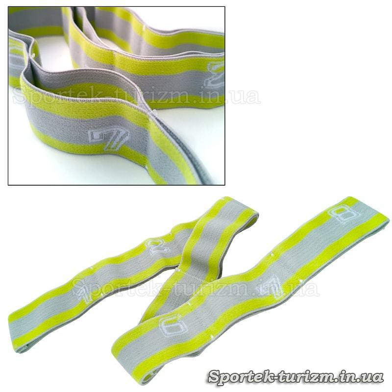 Резинка (эспандер) для растяжки (эластичная лента) на 8 петель (75х4 см)