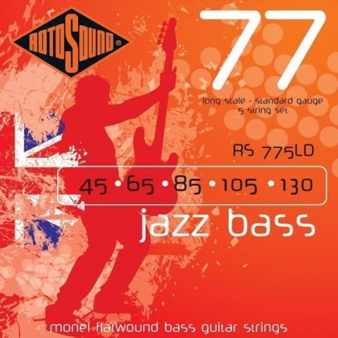 ROTOSOUND RS775LD JAZZ BASS FLATWOUND STRINGS MONEL Струны для бас-гитары
