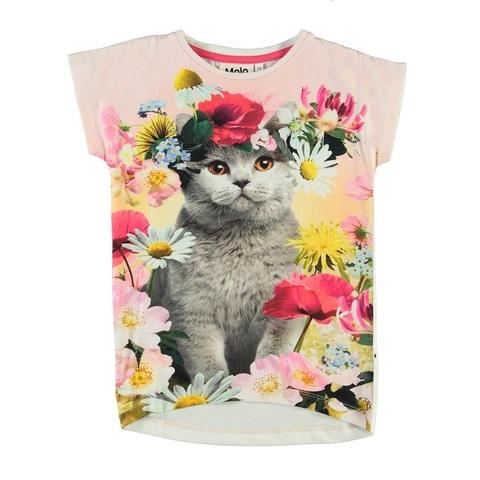 Футболка Molo Ragnhilde Flower Cat