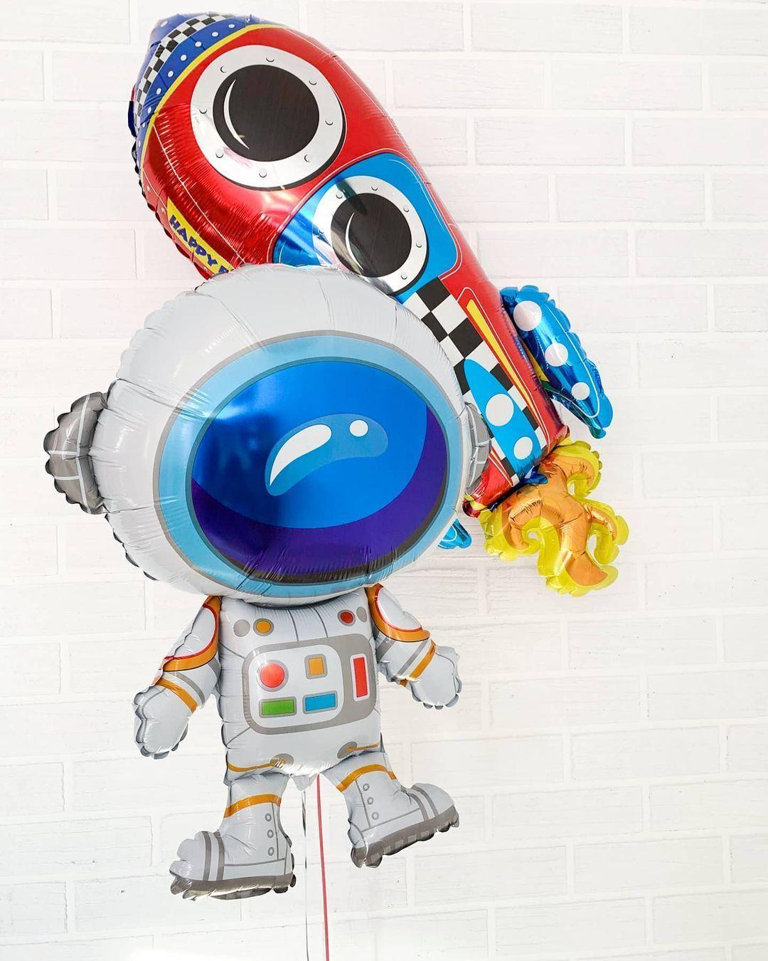 Шар-фигура Ракета США