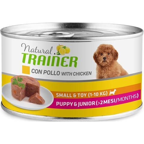 Влажный корм для щенков TRAINER свинина, индейка, курица (для мелких пород)