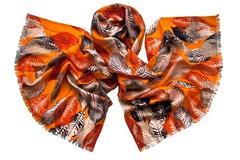 Шерстяной женский палантин осень (0953 PAL 8)