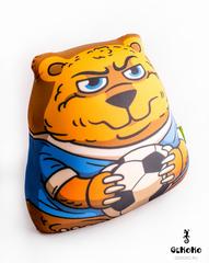 Подушка-игрушка антистресс Gekoko «Медведь-футболист» 4