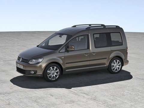 Чехлы на Volkswagen Caddy 2004–2015 г.в.