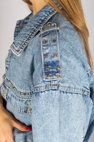 Классическая джинсовая куртка женская магазин