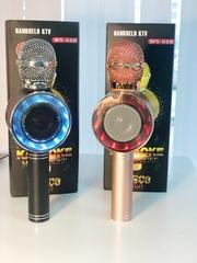 Караоке-микрофон с колонкой WS - 668