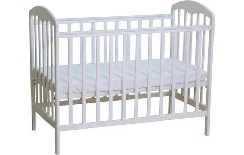 Кроватка детская Polini kids Simple 323 белый
