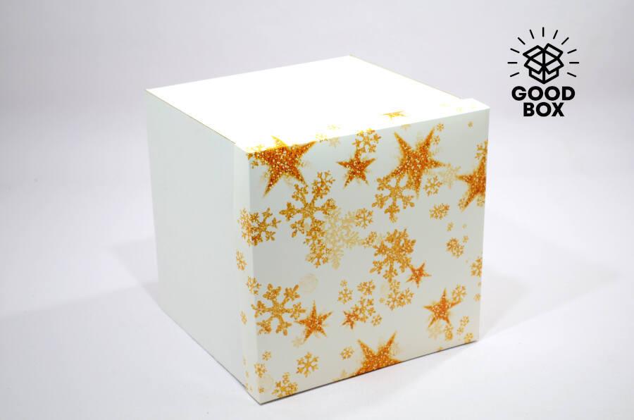 Большая Новогодняя коробка купить по выгодной цене