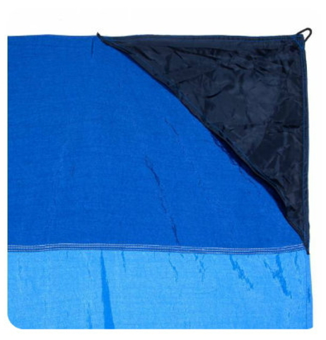 Картинка пляжное покрывало Ticket to the Moon Beach Blanket Red/Emerald Green - 2