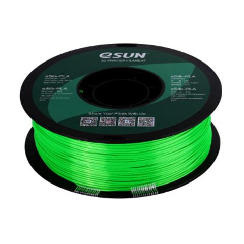 ESUN eSilkPLA, 1.75 мм, 1 кг, зеленый