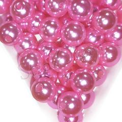 Купить оптом бусины Fuchsia ярко-розовые в инетрнет-магазине недорого