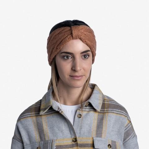 Вязаная повязка на голову Buff Headband Knitted Caryn Rosewood фото 2