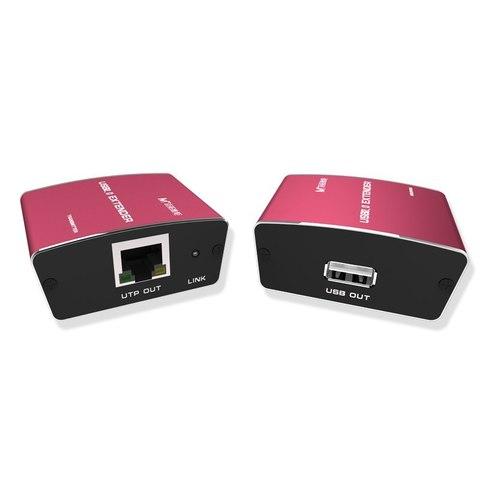 USB удлинитель на 100 метров по витой паре RJ45
