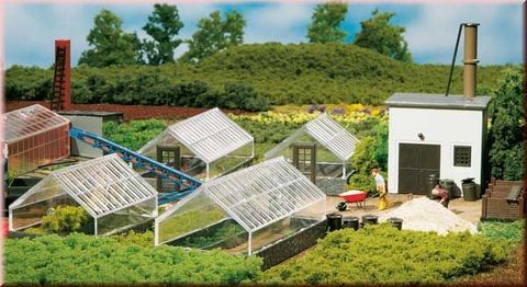 Теплицы + трава, для огородов и грядок