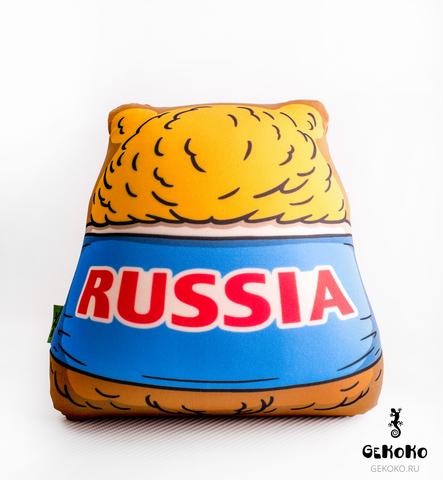 Подушка-игрушка антистресс Gekoko «Медведь-футболист» 5