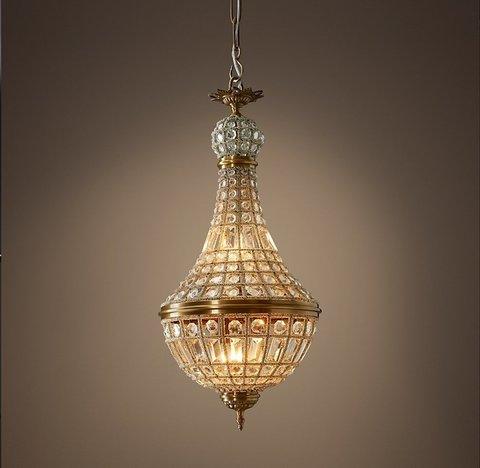 Подвесной светильник копия 19th C. French Empire Crystal Chandelier 14