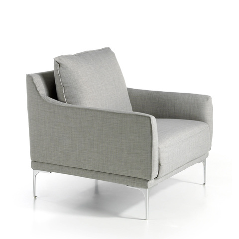 Мягкое тканевое кресло KF1037-1P