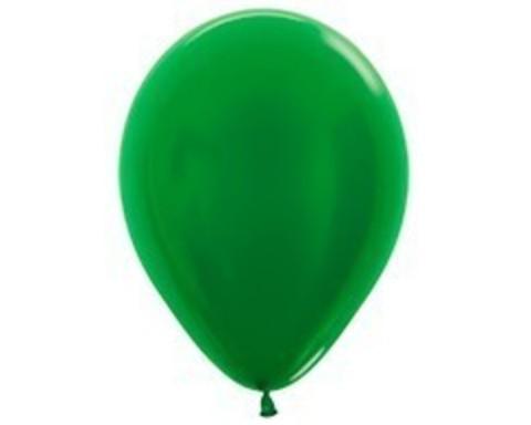 Шарики зеленые (металлик)