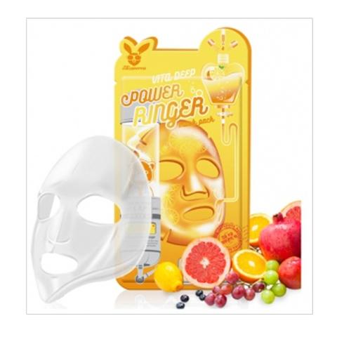 ELIZAVECCA тканевая маска для лица ВИТАМИНЫ Vita Deep Power Ringer Mask 1 шт