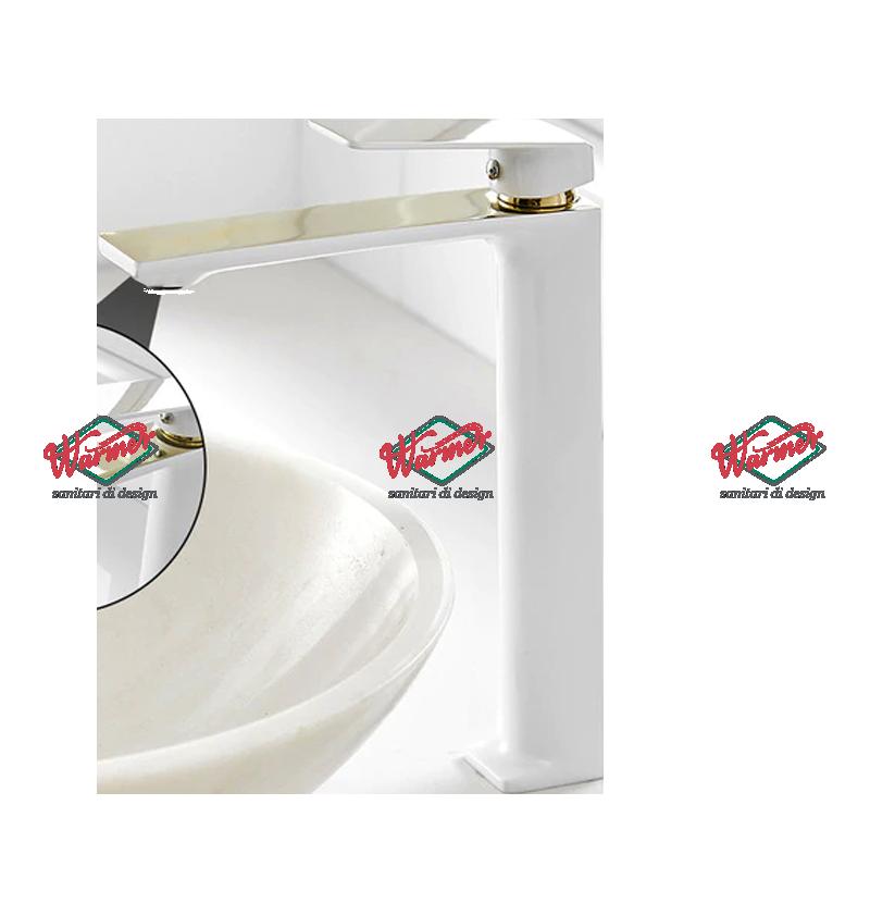 Смесители для раковины Смеситель для раковины Warmer White Line Comby  BPV-02114 0216-_4_.png