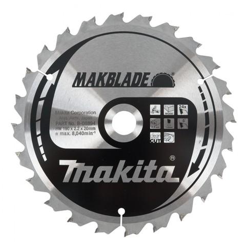 Диск по дереву MAKBLADE 260х30 мм /24T; 5°