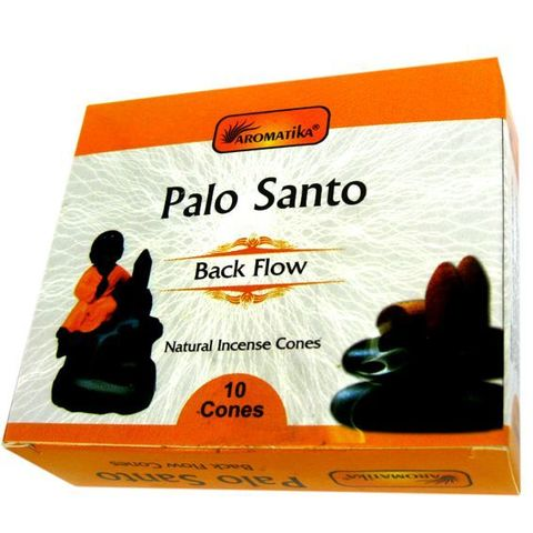 Комплект подставка благовония Будда 12х8 + Palo Santo, стелющийся дым