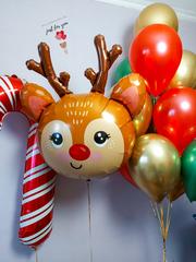Воздушные шарики на Новый Год